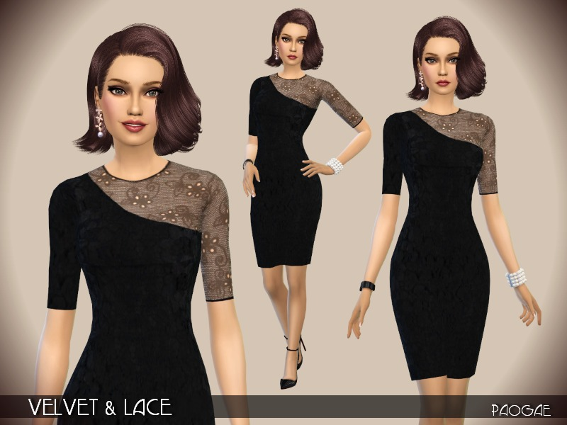 Velvet & Lace BY Paogae