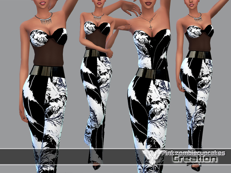 PZC_Exotic Breeze Dreams_Jumpsuit BY Pinkzombiecupcakes