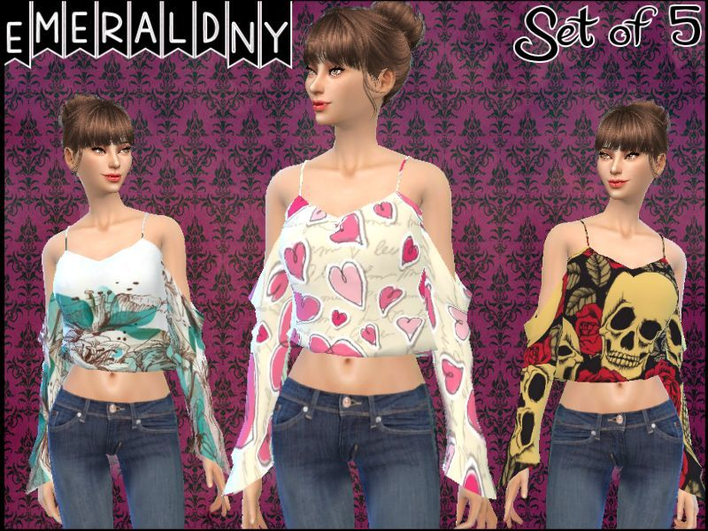 Kaliah (Top) by Toksik Recolor - mesh needed  BY EmeraldNY