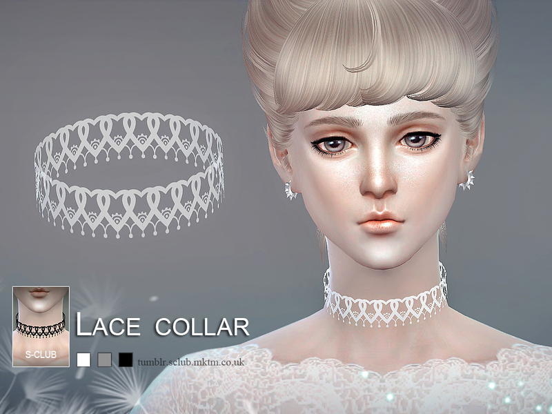 S-Club LL ts4 Lace collar 03