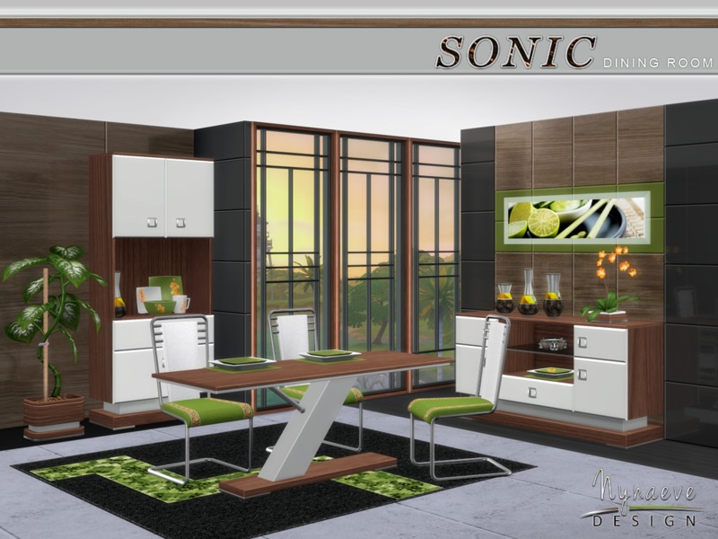 Sonic Dining Room BY NynaeveDesign