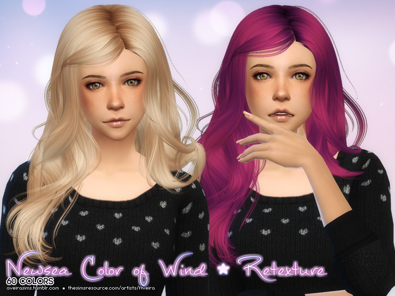 Newsea Color of Wind Retexture by AveiraSims