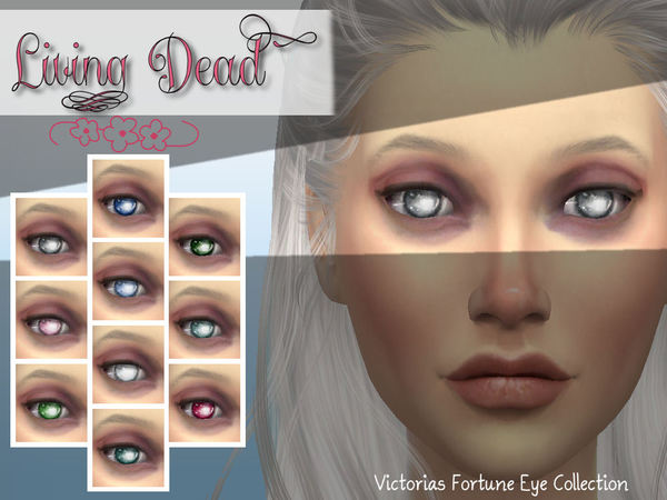 Victoria's Fortune Living Dead Eye Collection by fortunecookie1