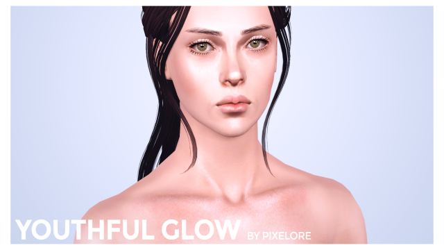 HD youthful glow non default skin by pixelore