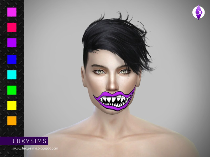 Creepy Smile  BY LuxySims3
