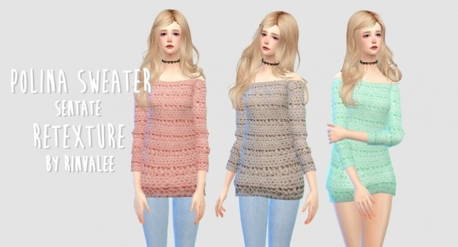 POLINA SWEATER TOPVER. By RINVALEE
