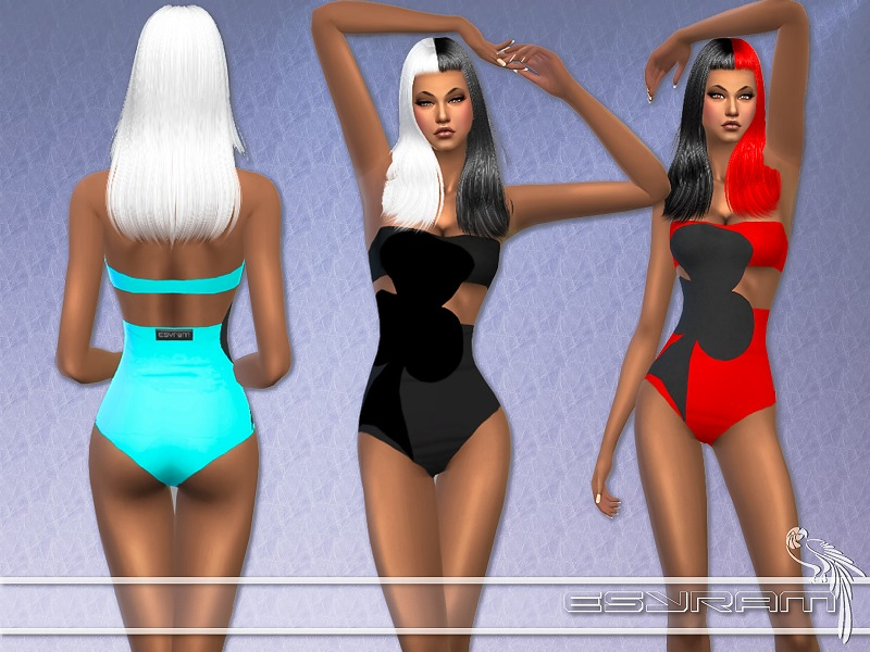 Cloverleaf Swimsuit  BY EsyraM