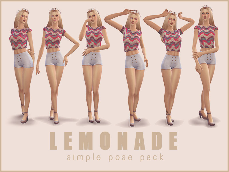 Simple Pose Pack by Screaming Mustard
