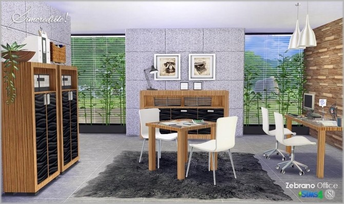 ZEBRANO OFFICE By SIMCREDIBLE! DESIGNS 4