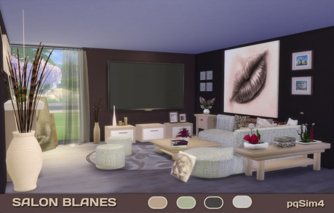 BLANES LIVINGROOM By PQSIMS4