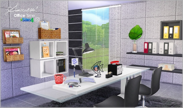 Office Time Set by Simcredible