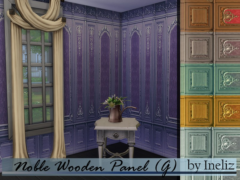 Noble Wooden Panel (G)  BY Ineliz