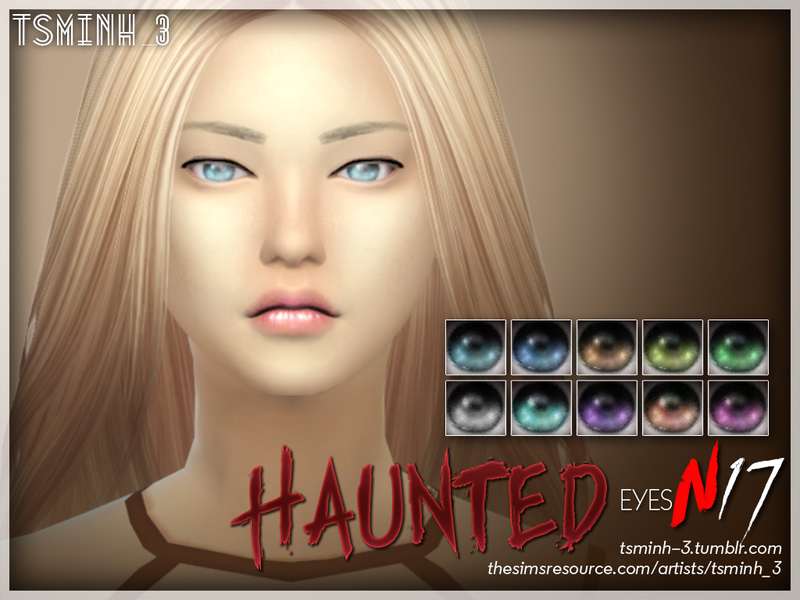 Haunted Eyes BY tsminh_3