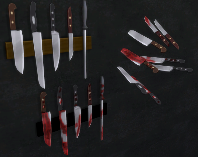 Knives Set by sg5150