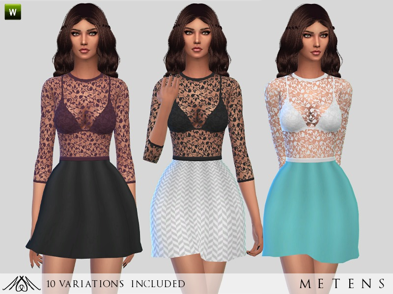 Valentine - Dress  BY Metens