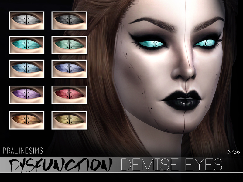 DYSFUNCTION Eye Minipack N03 BY Pralinesims
