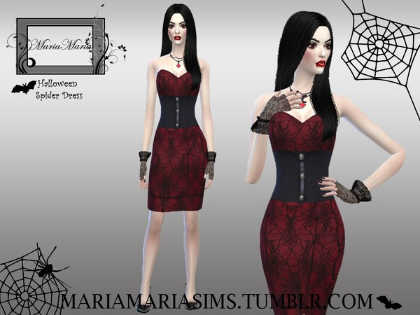 MariaMaria Halloween Spider Dress