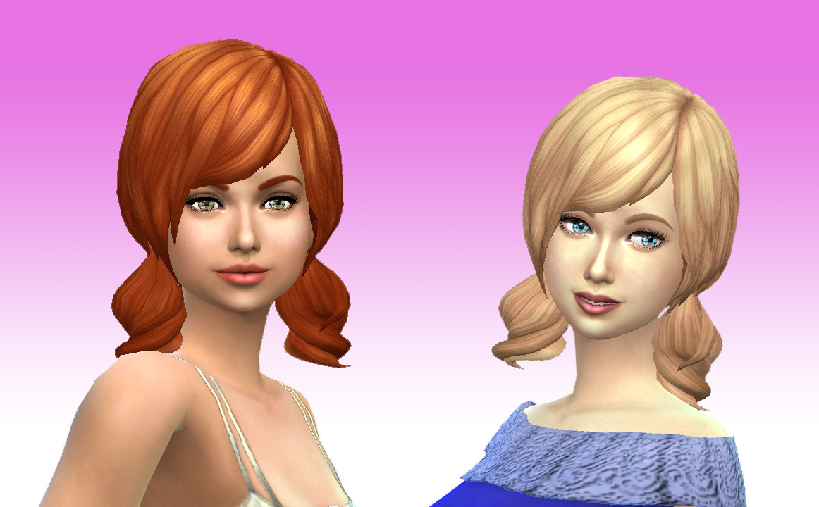 Kiara24 Dolly Hair for Females