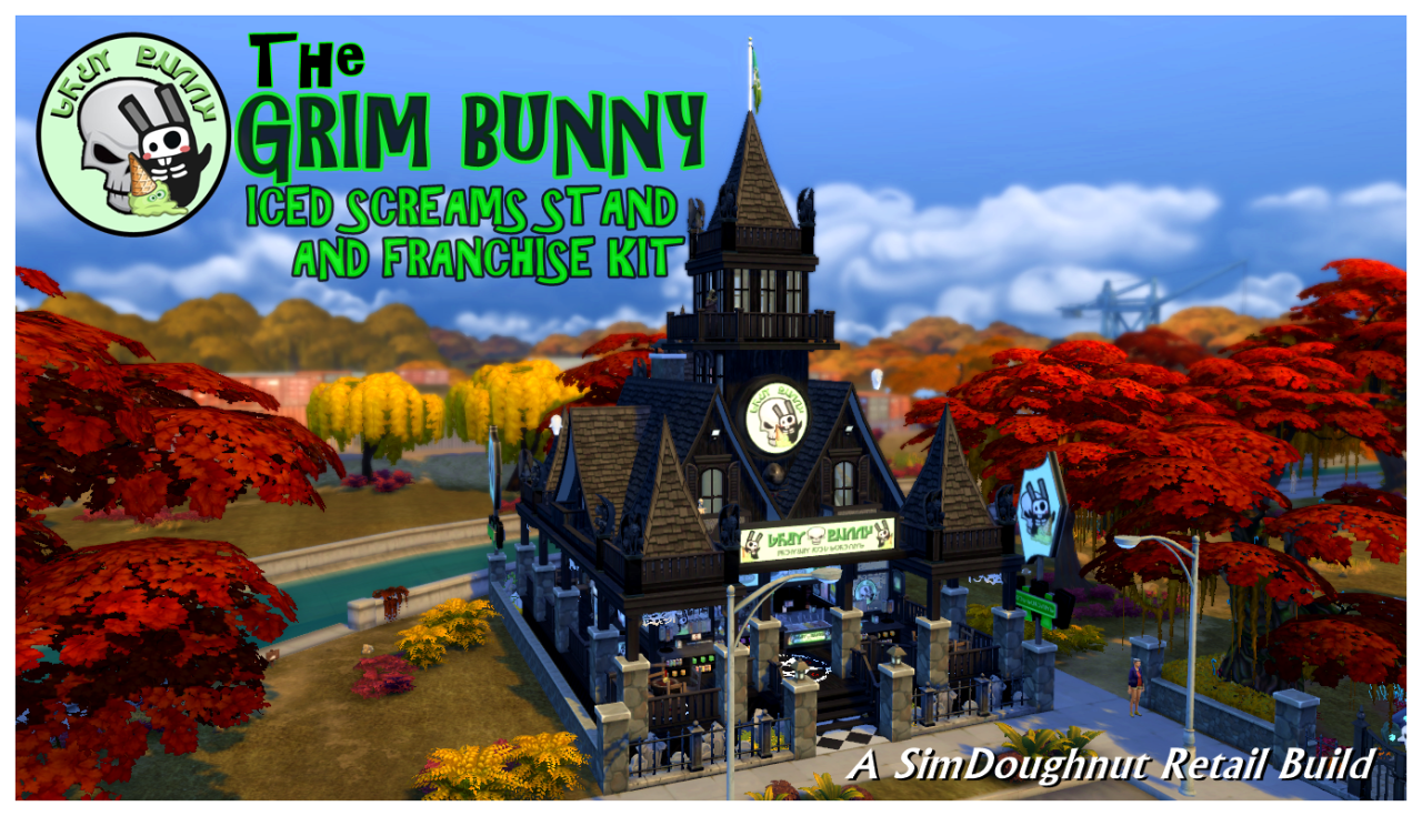 Grim Bunny Iced Screams Stand and Franchise Kit by SimDoughnut