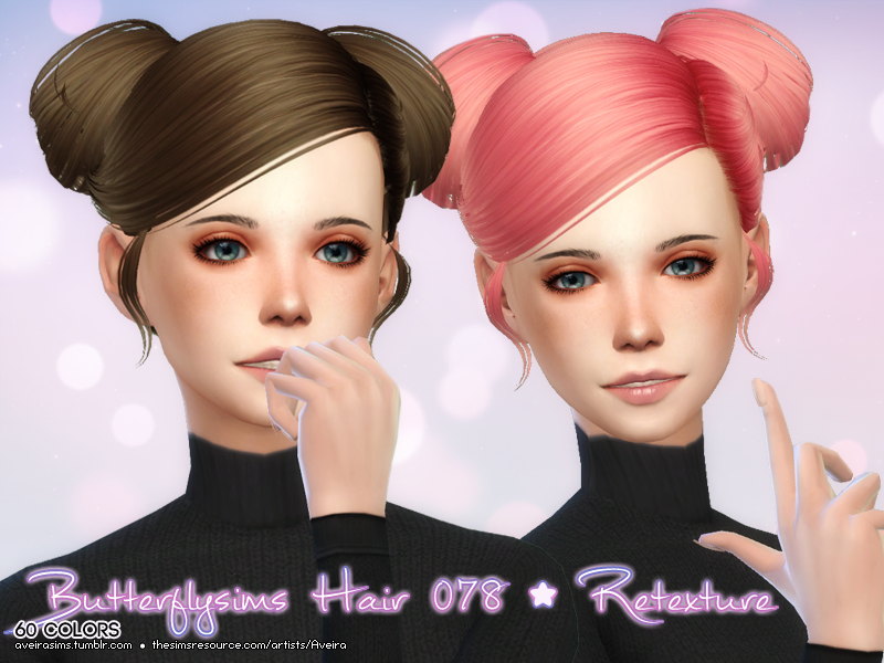 Butterflysims 078 Retexture in 60 Colors by AveiraSims