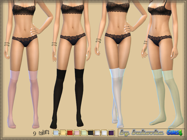Acc Socks Marisol by bukovka