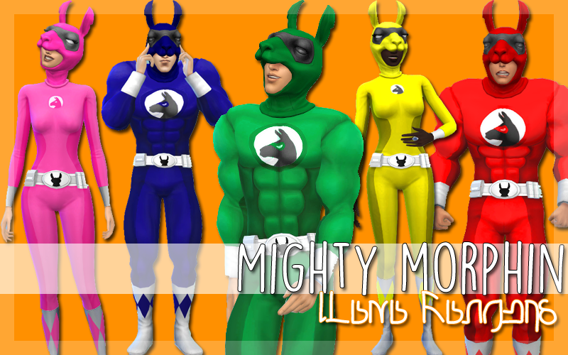 Mighty Morphin Halloween Costumes by Plumbboxx