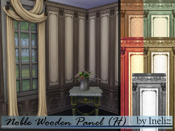 Noble Wooden Panel (H) by InelizI