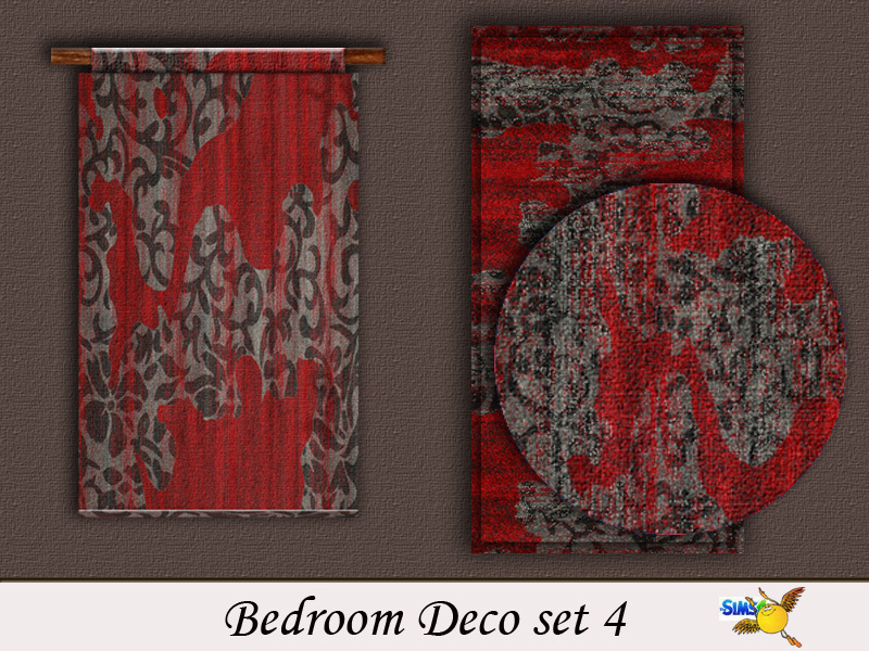 bedroom set 4  BY evi
