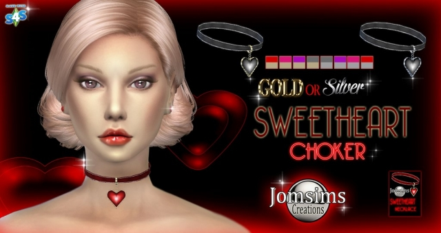 Sweetheart Choker by JomSims