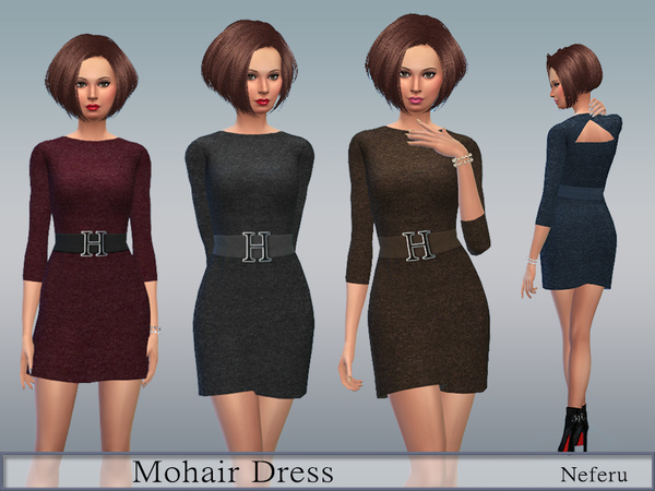 Mohair Dress by Neferu