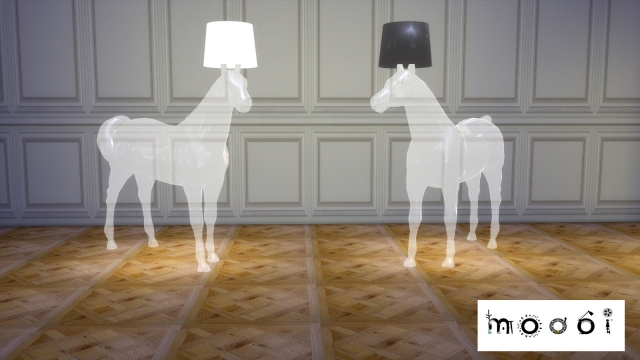 Transparent Horse Lamp by Moooi