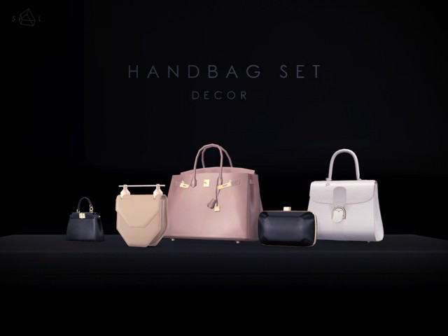 All my handbags as decorative objects by starlord