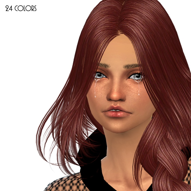 Skysims 250 Hair Retexture by Dachs