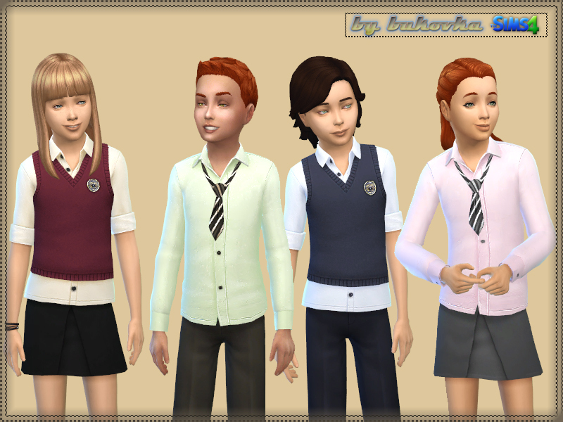 Set School Uniform BY bukovka