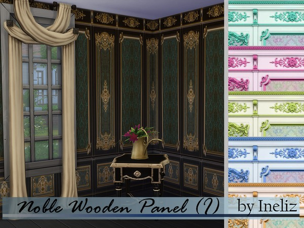 Noble Wooden Panel (I) by Ineliz
