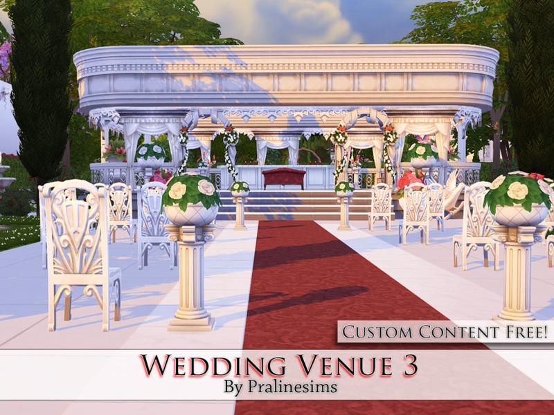 Wedding Venue 3 BY Pralinesims
