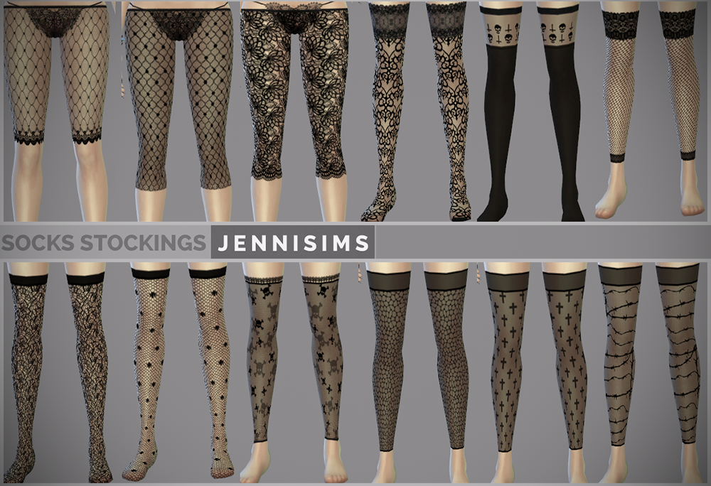 Stockings and Leggings by JenniSims