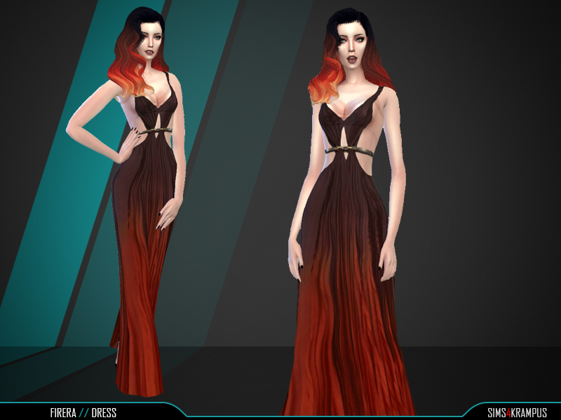 Firera Dress BY SIms4Krampus