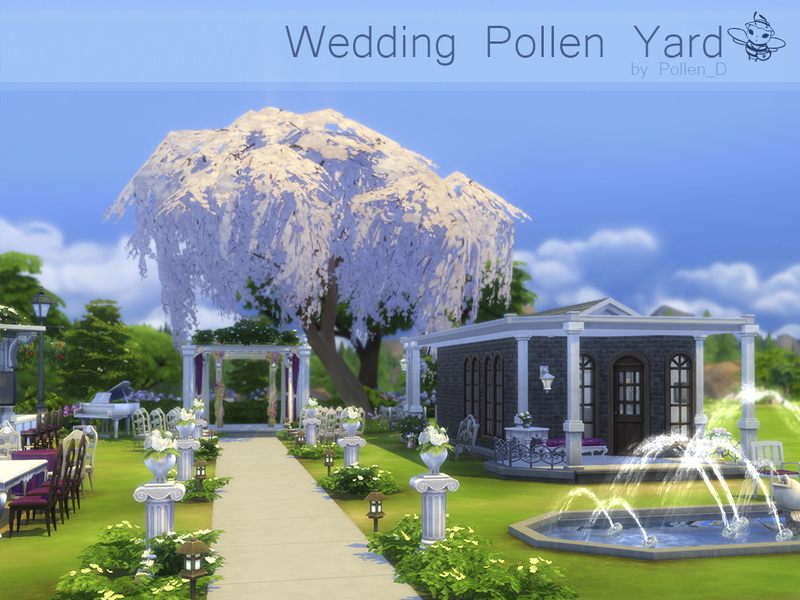 Wedding Pollen Yard  BY Pollen_D