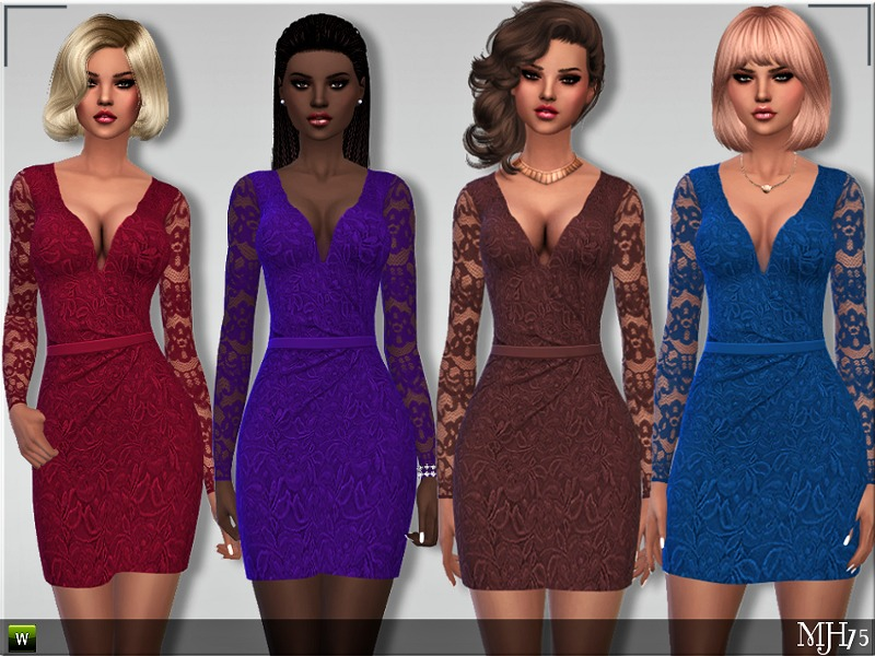 S4 Kaliko Ruched Dress BY Margeh-75