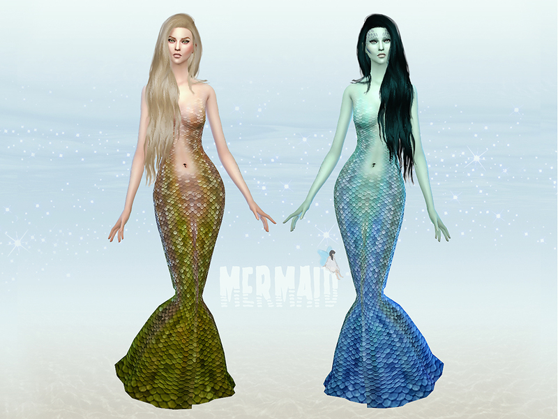 Mermaid Costume BY Ms Blue