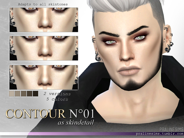 Skin Detail Collection N02 by Pralinesims