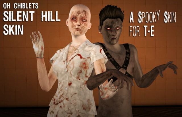 SILENT HILL SKIN by ohchiblets