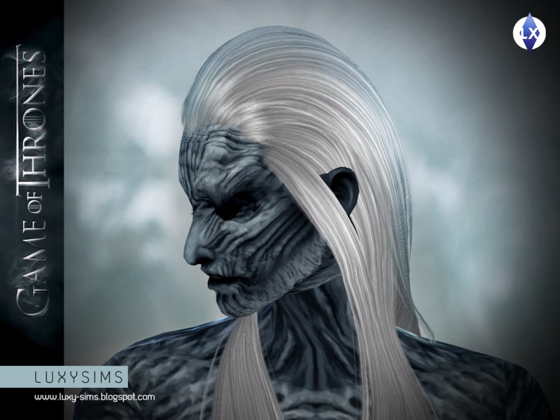 White Walker Makeup [GAMEOFTHRONES] BY LuxySims3