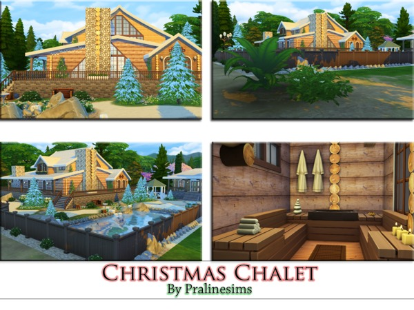 Christmas Chalet by Pralinesims