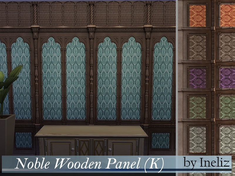 Noble Wooden Panel (K) BY Ineliz