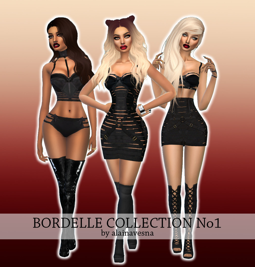 Bordelle Collection No1 by AlainaVesna