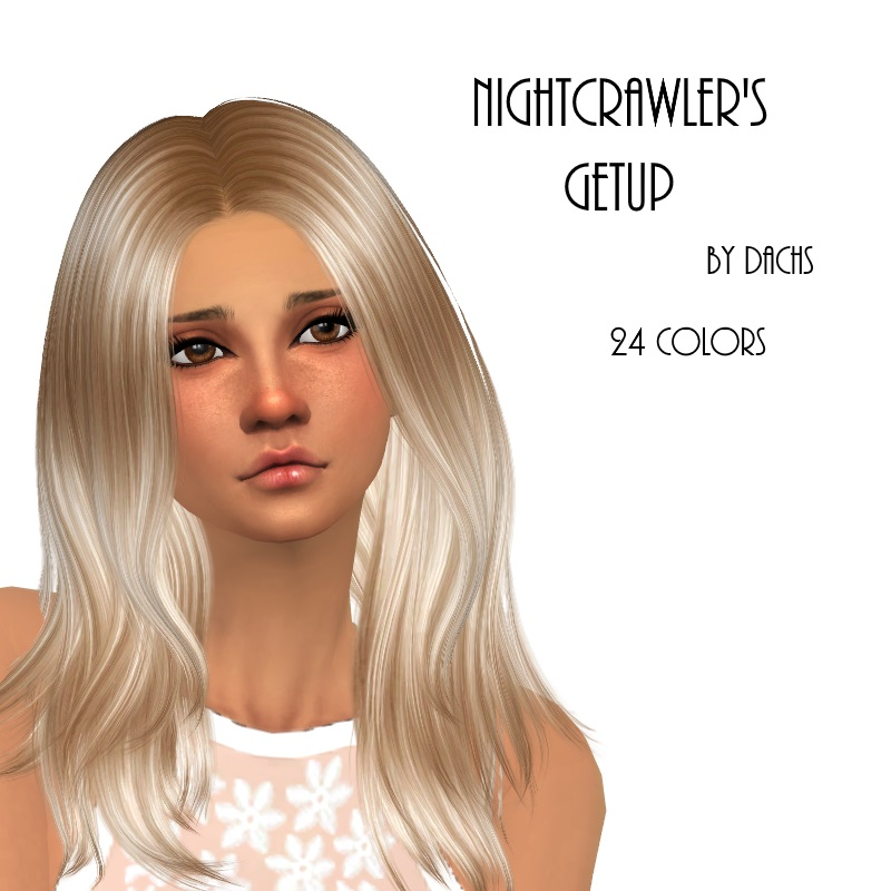 Nightcrawler Getup Hair in 24 Recolors by Dachs