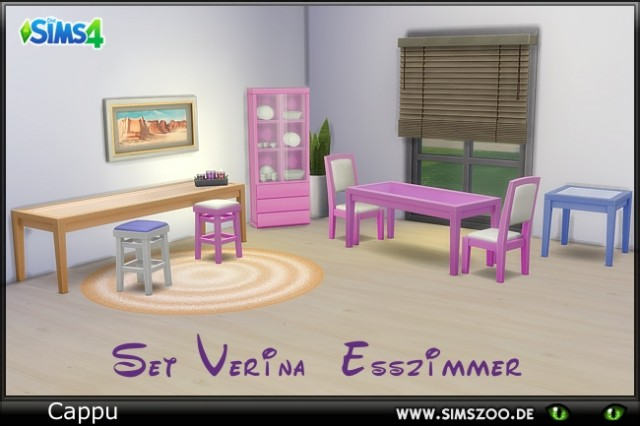 Set Verina Esszimmer by Cappu