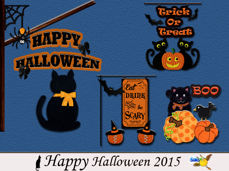 Happy Halloween 2015  BY evi